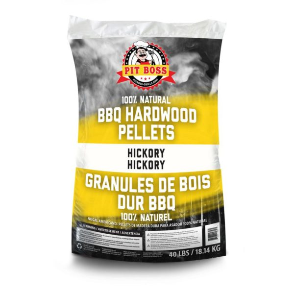Pit Boss Hickory Pellets - 40lb Bag