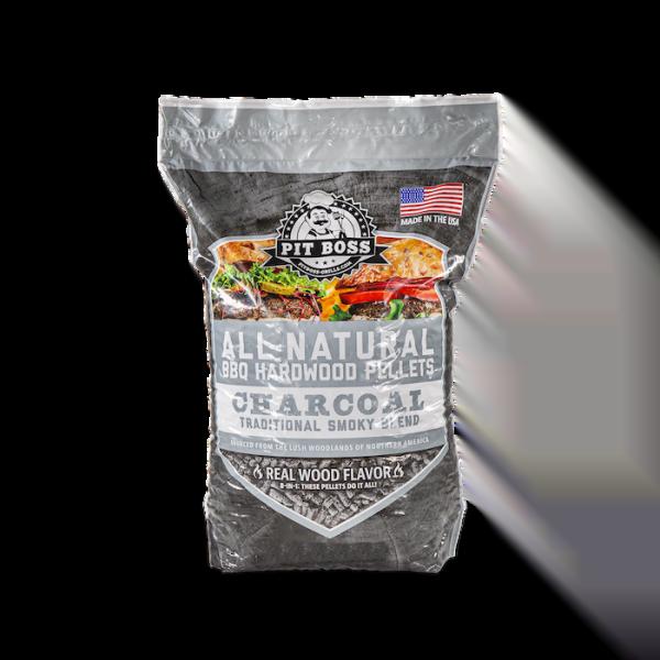 Pit Boss Charcoal Blend Pellets - 40lb Bag