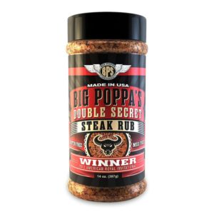 Big Poppa Smoker's Double Secret Steak Rub