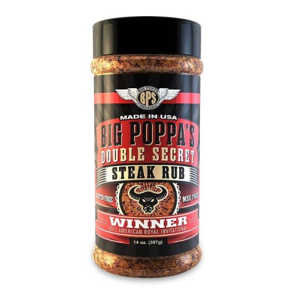 Big Poppa Smoker's Double Secret Steak Rub
