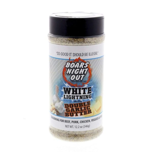 Boar's Night Out - White Lightning Double Garlic Butter