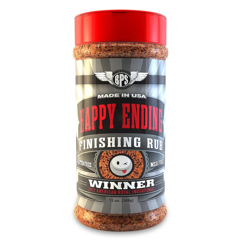 Big Poppa Smokers Happy Ending Finishing Rub