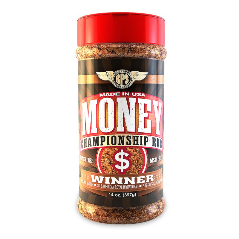 Big Poppa Smoker's Money BBQ Rub