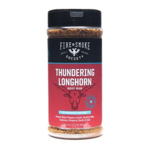 Fire & Smoke Thundering Longhorn Beef Rub