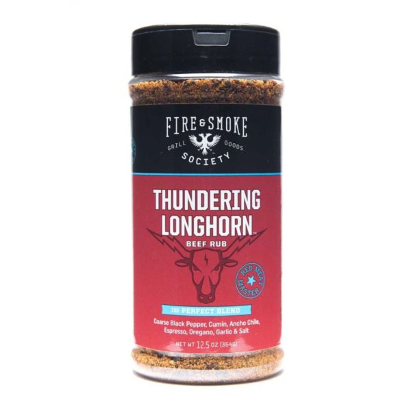 Fire & Smoke Thundering Longhorn Beef Rub