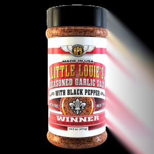 Big Poppa Smoker's Little Louie's Seasoned Garlic Salt