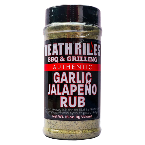 Heath Riles Garlic Jalepeno Rub