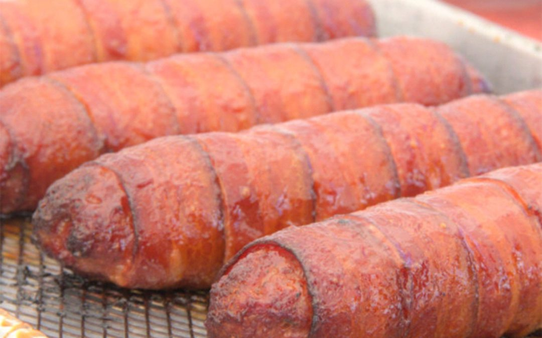 Bacon Wrapped Sausages Recipe