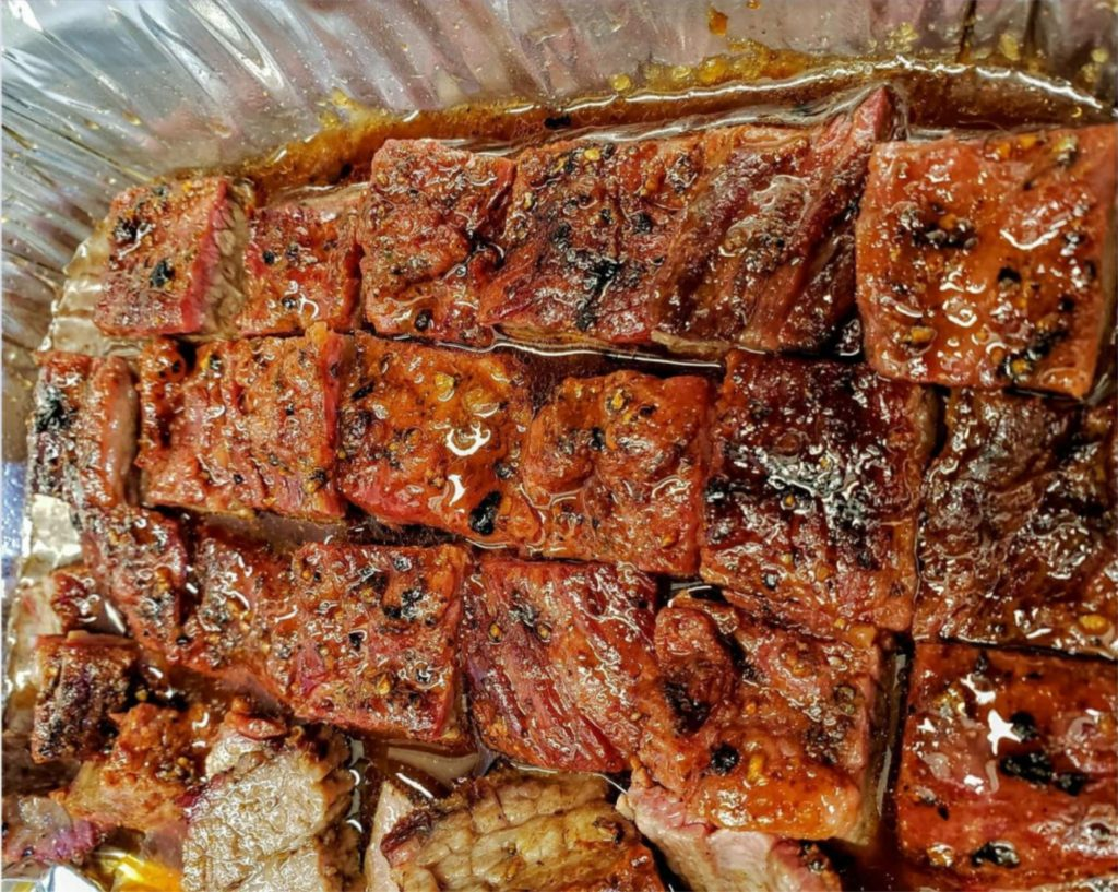Hot and Fast Brisket Burnt Ends Recipe