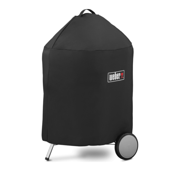 """Weber 22"""" Charcoal Premium Cover"""
