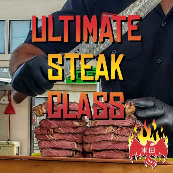 Ultimate Steak BBQ Class May 15