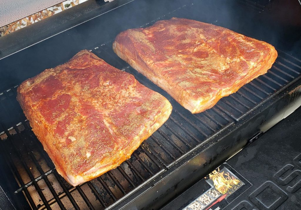 Cherry Pecan Glazed Pork Belly Recipe