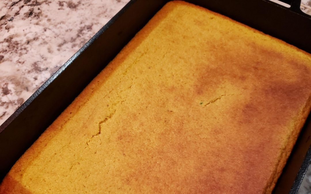 Honey Butter Corn Bread Recipe