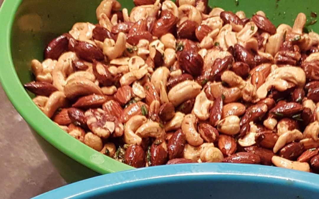 Sweet and Spicy Smoked Nuts Recipe