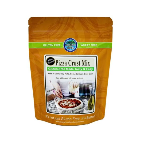 Authentic Foods Pizza Crust mix (Gluten Free)
