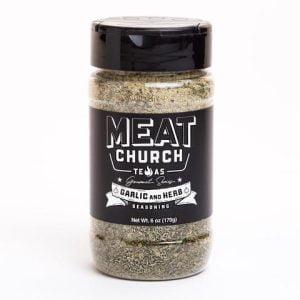 Meat Church Gourmet Garlic and Herb Seasoning