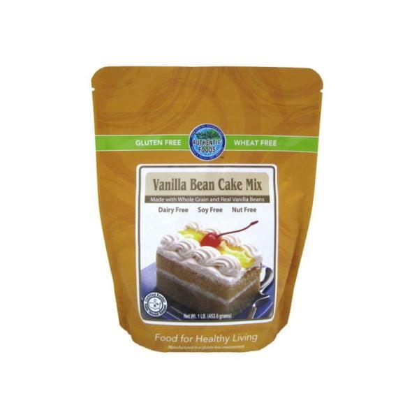 Authentic Foods Vanilla Cake Mix (Gluten Free)