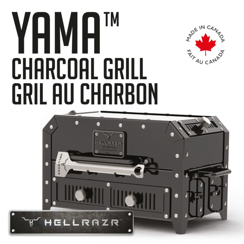 Hellrazr Yama Ultimate Portable Charcoal Grill