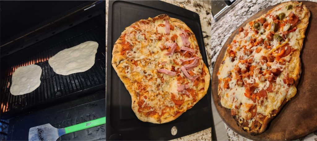 Outdoor Grilling Style Cheese Pizza Recipe