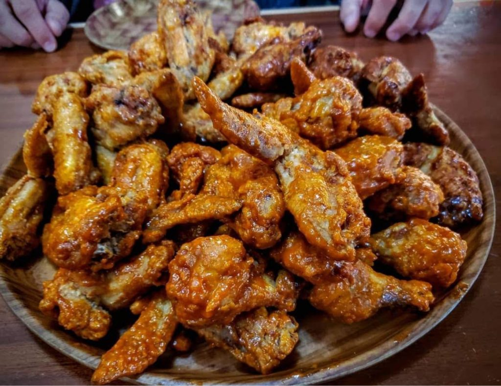 Wing Dust Smoked Chicken Wings Recipe