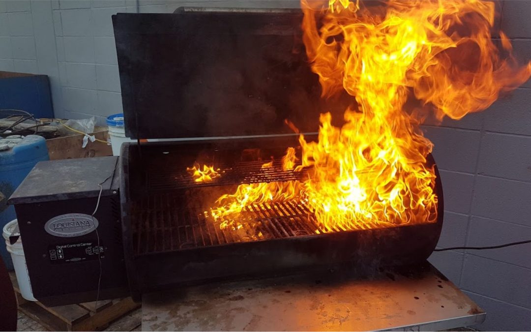 Grease Fires on a Pellet Grill