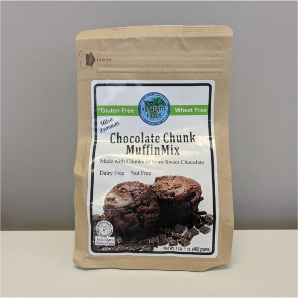 Authentic Foods Chocolate Chunk Muffin Mix