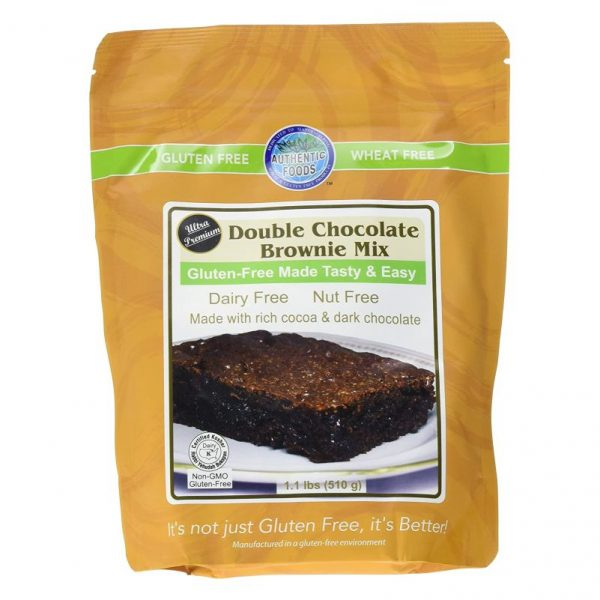 Authentic Foods Double Chocolate Brownie Mix