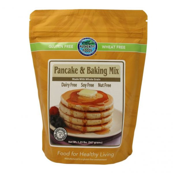 Authentic Foods Pancake and Baking Mix