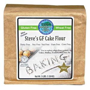 Authentic Foods Steve's GF Cake Flour