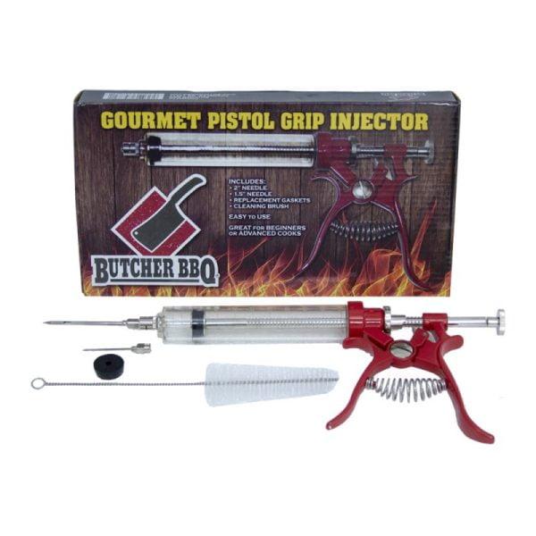 Butcher BBQ Gourmet Pistol Grip Injector