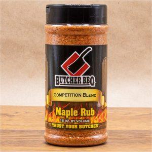 Butcher BBQ Maple Rub
