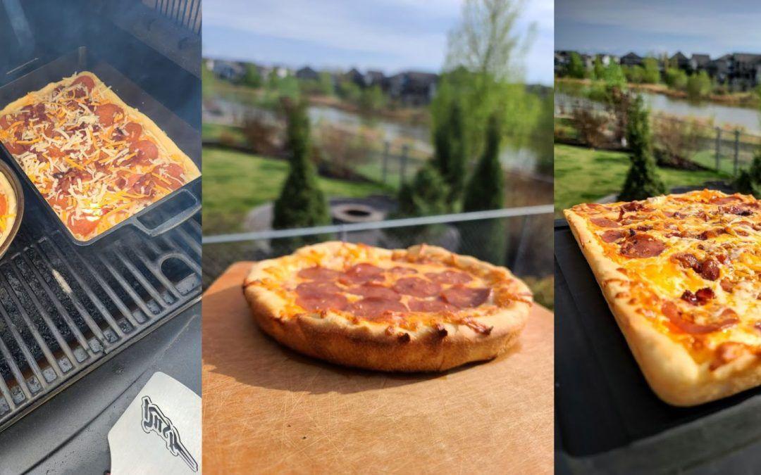 Deep Dish Bechamel Pepperoni Pizza
