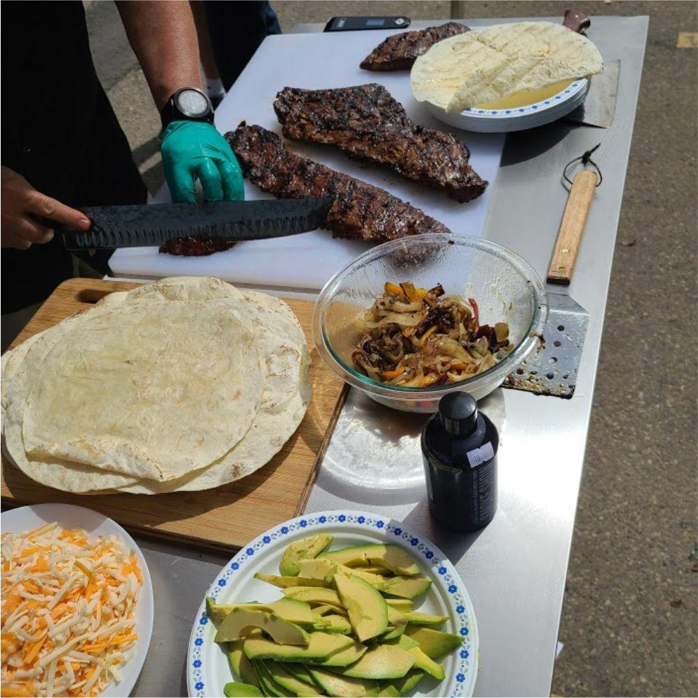 Southwest Skirt Steak Tacos