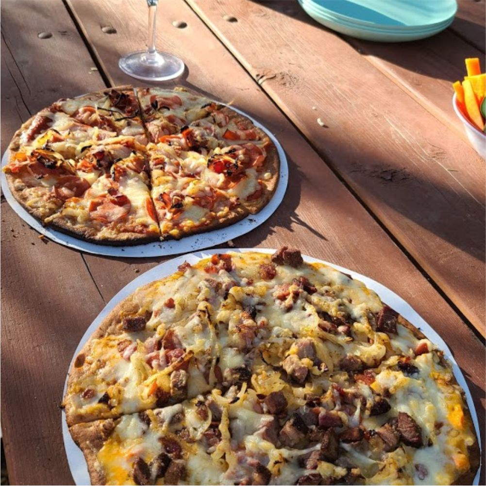 The Ultimate Camping Pizza