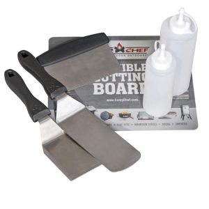 camp chef professional griddle tool set