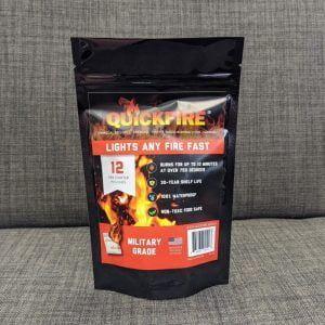 Quickfire All Purpose Firestarters 12pc Bag