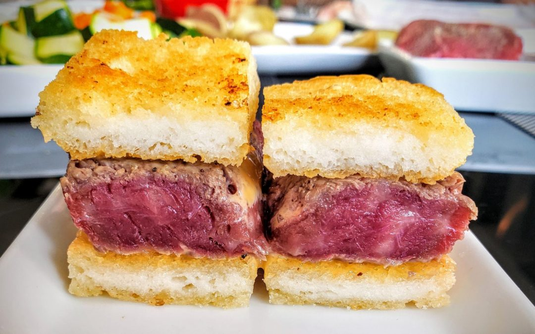 Wagyu Katsu Sando Sandwich
