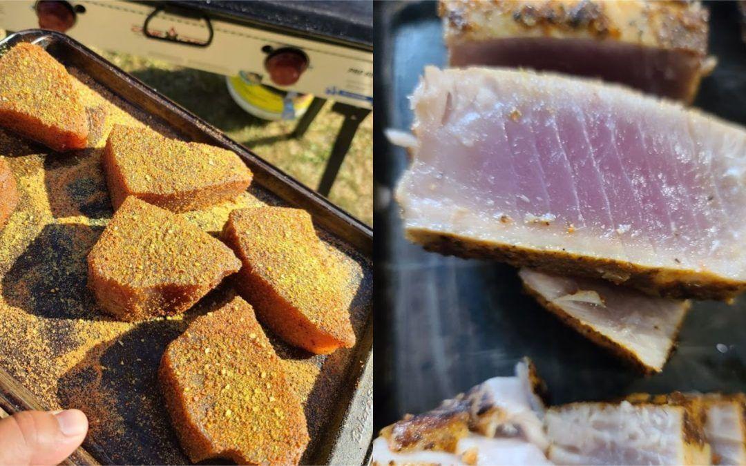 Seared Yellowfin Tuna Poke Bowls