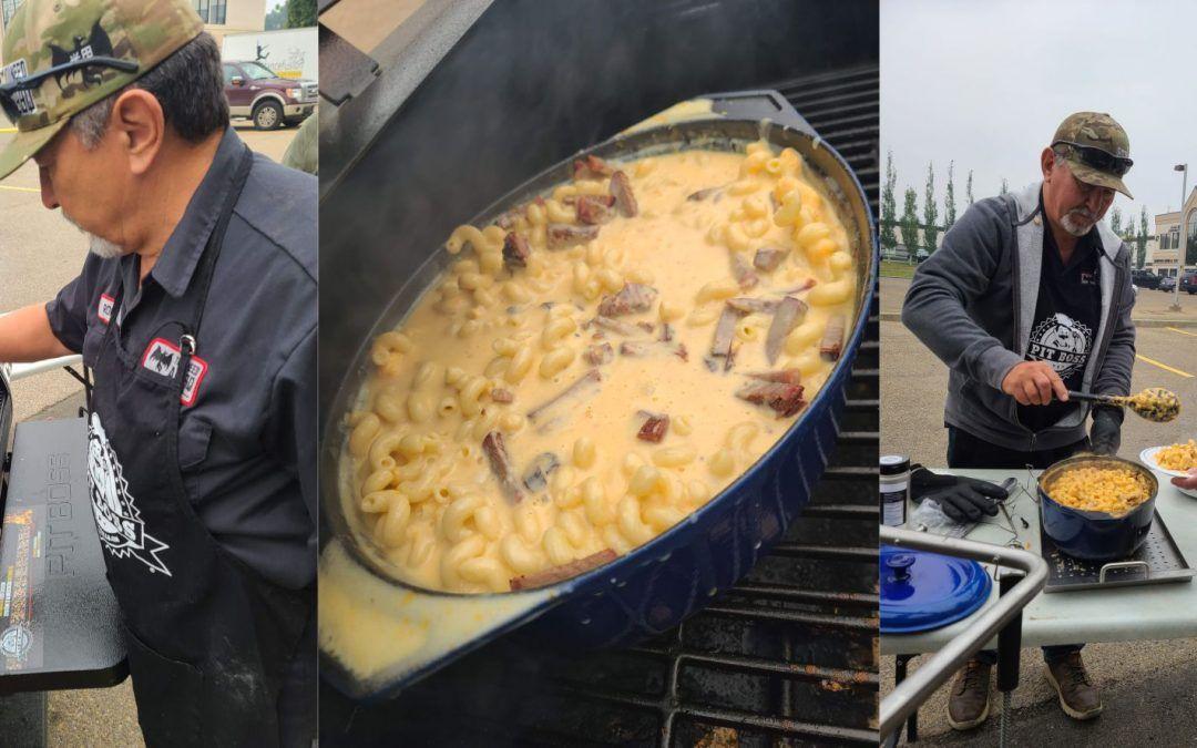 Brisket Smoked Mac & Cheese