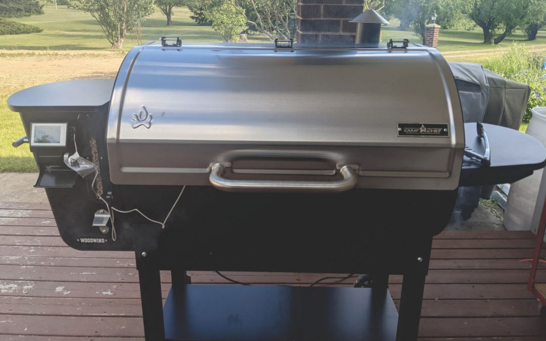 Why I Chose the Camp Chef Woodwind 36 as My New Grill