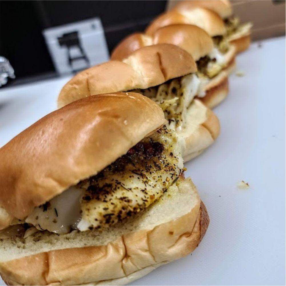 Smoked Cod Sandwich Recipe