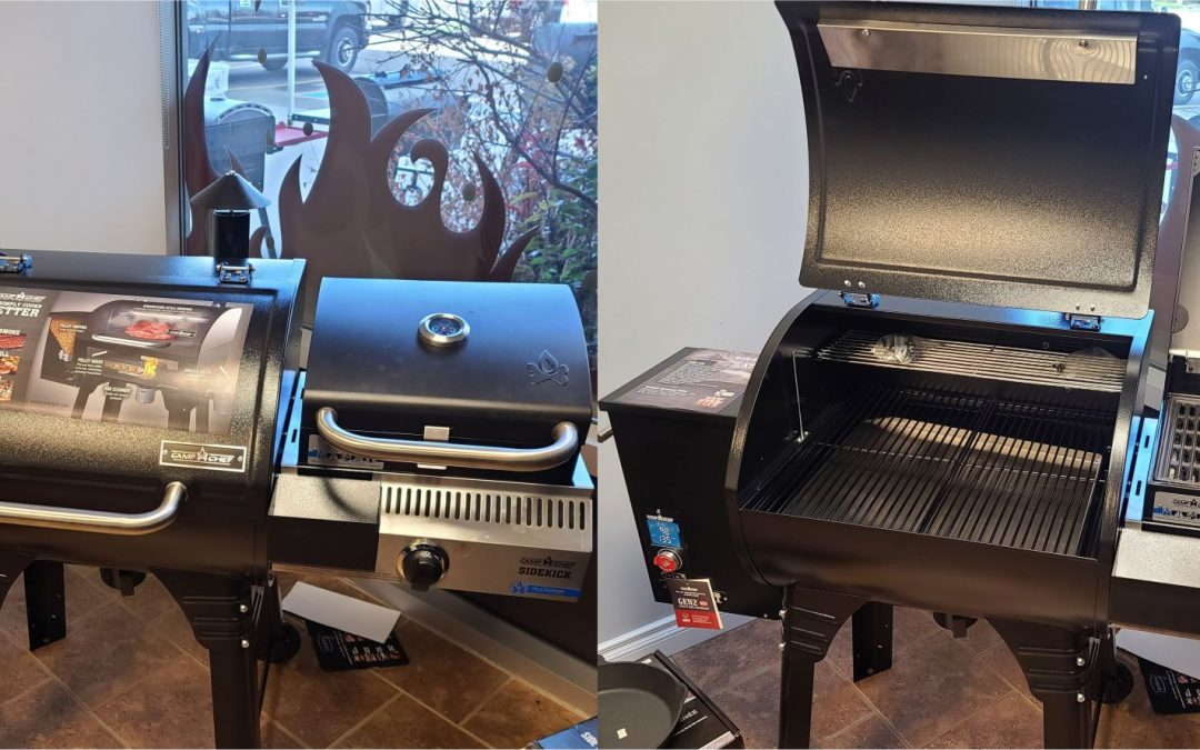 Wood Pellet and Natural Gas Combo Grill Options