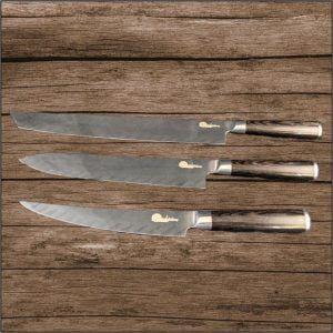 Yonedas 3 Piece Knife Set (Pre-order)
